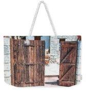 Secret Courtyard Weekender Tote Bag