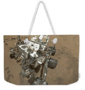 Self-portrait Of Curiosity Rover Weekender Tote Bag by Stocktrek Images