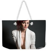 Semi-nude Portrait Weekender Tote Bag