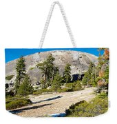 Sentinel Dome From Sentinel Dome Trail In Yosemite Np-ca  Weekender Tote Bag