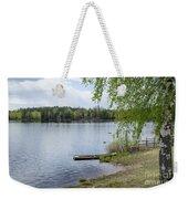 Serene Lake View Weekender Tote Bag