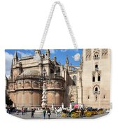 Seville Cathedral In The Old Town Weekender Tote Bag