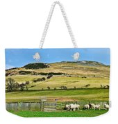 Sheep In Meadow Weekender Tote Bag