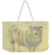 Sheep Sketch Weekender Tote Bag