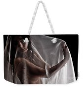 Sheer Nude Weekender Tote Bag