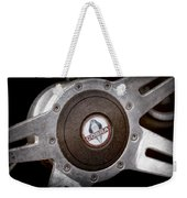 Shelby Cobra Steering Wheel Emblem Weekender Tote Bag