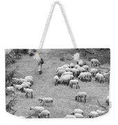 Shepherd With Sheep  Weekender Tote Bag