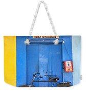 Shop On Street In Goa India Weekender Tote Bag
