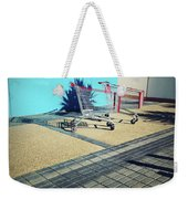 Shopping Trolleys  Weekender Tote Bag