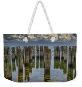 Shore Pilings At Fayette State Park Weekender Tote Bag