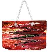 Showpiece Waves Weekender Tote Bag