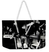 Sid Wilson's Tools For Building Stagecoaches Pick 'em Up Ranch Tombstone Arizona 1979 Weekender Tote Bag