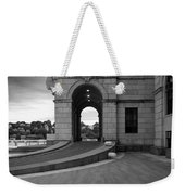Side Entrance  Weekender Tote Bag
