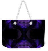 Silence Weekender Tote Bag by Christopher Gaston
