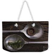 Silver Spoons Weekender Tote Bag by Edward Fielding