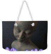 Simplicity In Purple Weekender Tote Bag