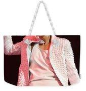 Singer Justin Bieber Weekender Tote Bag