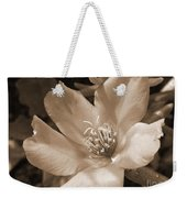 Single Portulaca Weekender Tote Bag