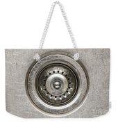 Sink Plug Weekender Tote Bag by Tim Hester