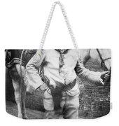 Sir Genille Cave Brown Cave (1869-1929) Weekender Tote Bag