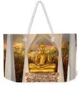 Sitting Buddha Weekender Tote Bag
