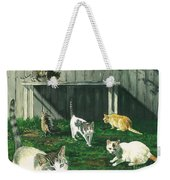 Six Cats Weekender Tote Bag