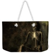 Skeleton Weekender Tote Bag