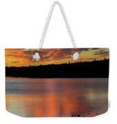 Skilak Lake, Alaska, The Aleutian Weekender Tote Bag