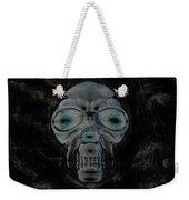 Skull In Negative Weekender Tote Bag