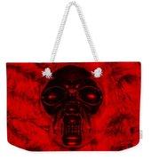 Skull In Red Weekender Tote Bag