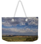 Sky City Weekender Tote Bag