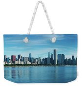 Skylines At The Waterfront, Lake Weekender Tote Bag