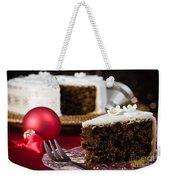 Slice Of Christmas Cake Weekender Tote Bag