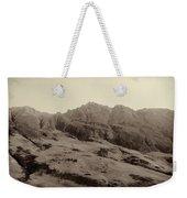 Slope Of Hills In The Scottish Highlands Weekender Tote Bag