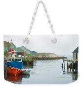 Boats In Peggy's Cove Weekender Tote Bag