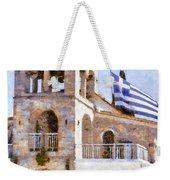 Small Greek Church Weekender Tote Bag