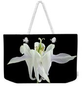 Small White Flowers Weekender Tote Bag