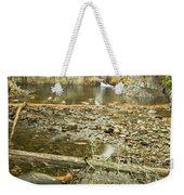 Smalls Falls In Autumn Western Maine Weekender Tote Bag