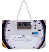 Smart Grid Residential Digital Power Supply Meter Weekender Tote Bag