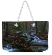 Smoky Mountain Color Weekender Tote Bag