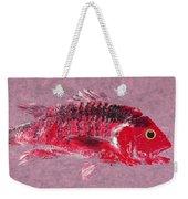 Gyotaku Snapper Weekender Tote Bag