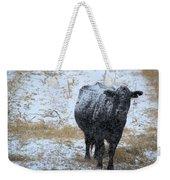 Snow Angus Weekender Tote Bag
