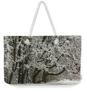 Snow On Trees Weekender Tote Bag
