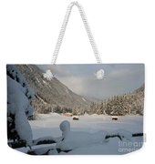 Snowed Under Weekender Tote Bag