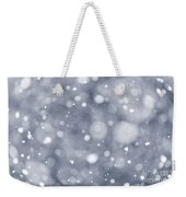 Snowfall  Weekender Tote Bag by Elena Elisseeva
