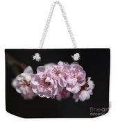 Soft Pink Blossom Weekender Tote Bag