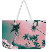 South Beach Miami Tropical Art Deco Wide Palms Weekender Tote Bag