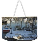 South Bristol And Fishing Boats On The Coast Of Maine Weekender Tote Bag by Keith Webber Jr