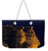 South Rim Grand Canyon Taken Near Mather Point Sunrise Light On  Weekender Tote Bag