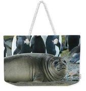 Southern Elephant Seal  Weekender Tote Bag